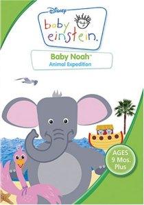 Baby Einstein serisinden hayvanların tanıltıldığı Baby Noah DVD'si